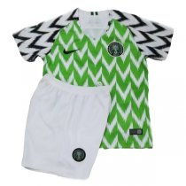 2018 Nigeria Home World Cup Jersey Super Eagles Kid Kit