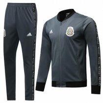 19-20 Mexico Gray Vest Tracksuit