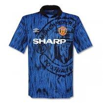 1992-1993 Manchester United Away Retro Jersey Shirt