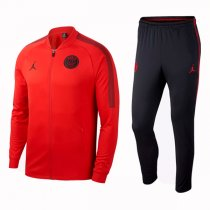 1819 PSG Jodan X Squad Red Training Jacket Kit