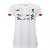 19-20 Liverpool Away White Women Soccer Jersey Shirt
