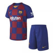 19-20 Barcelona Home Soccer Jersey Kids Kit
