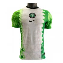 2020 Nigeria Home Authentic Soccer Jersey (Player Version)