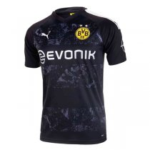 19-20 Borussia Dortmund Authentic Away Black Soccer Jersey (Player Version)