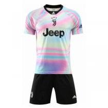 1819 Juventus EA Sport 4TH Jersey Kit (Shirt+Short)