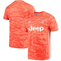 19-20 Juventus Orange Goalkeeper Soccer Jersey
