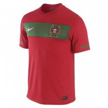 2010 World Cup Portugal Home Retro Soccer Jersey Shirt