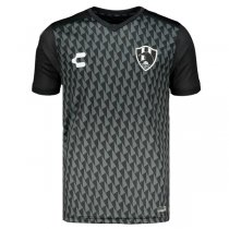 2019-2020 Club de Cuervos Charly Home Black Soccer Jersey Shirt