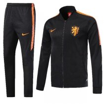 2018 Nederland Black Training Kit(Jacket+Trouser)