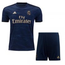 19-20 Real Madrid Away Soccer Jersey Men Kit(Shirt+Short)