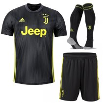 1819 Juventus Third Soccer Jersey Full Kit