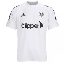 20-21 Leeds United White Pre Match Training Jersey