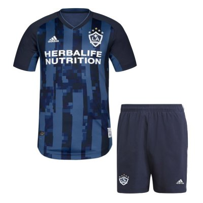 2019 LA Galaxy Away Kids Soccer Jersey Kit