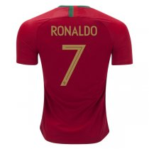 2018 World Cup Portugal Home Ronaldo 7# print