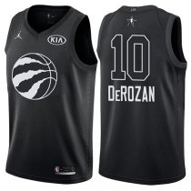 Toronto Raptors DeMar DeRozan All-Star 2018 Black Jersey