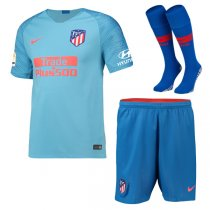 1819 Atletico Madrid Away Soccer Jersey Full Kit(Shirt+Short+Sock)