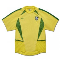2002 World Cup Brazil Home Retro Jersey
