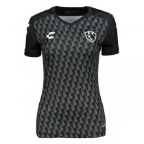 2019-2020 Club de Cuervos Charly Home Black Women Shirt