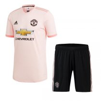1819 Manchester United Away Soccer Jersey Kit(Shirt+Short)