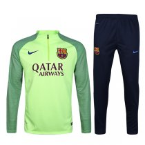 1617 Barcelona Fluorescent Green Sleeve Green Training Gear