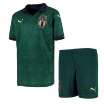 2020 Euro Cup Italy Third Jersey Kids Kit
