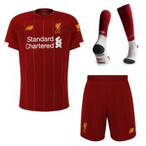 19-20 Liverpool Home Soccer Jersey Men Full Kit(Shirt+Short+Sock)