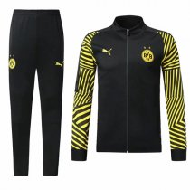 1819 BVB Borussia Dortmund Black Training Jacket Kit