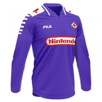 1998-1999 Fiorentina Home Long Sleeve Retro Football Shirt
