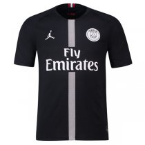 1819 Jordan PSG Champions League Black Jersey