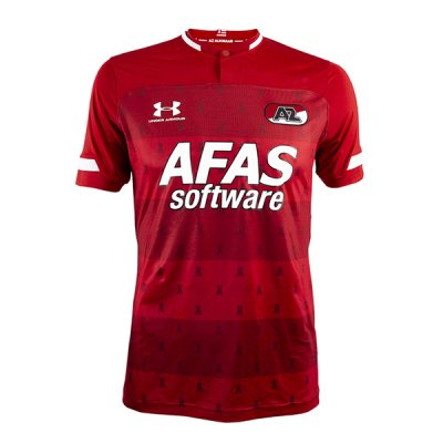 19-20 AZ Alkmaar Home Red Soccer Jersey Shirt