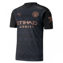 20-21 Manchester City Away Authentic Jersey (Player Version)
