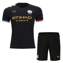19-20 Manchester City Away Jersey Men Kit(Shirt+Short)