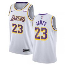 18-19 Los Angeles Lakers LeBron James 23 Association Edition Swingman Jersey