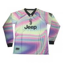 1819 Juventus Long Sleeve EA Sport 4TH Jersey