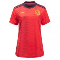 2019 Spain Home Women Soccer Jersey Shirt