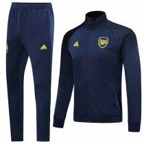 19-20 Arsenal All Navy High Neck Jacket Kit