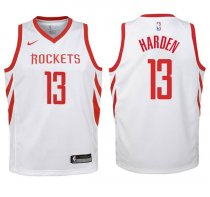 2017-18 Rockets James Harden Association White Jersey
