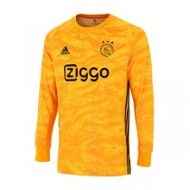 19-20 Ajax Goalkeeper Yellow Long Sleeve Jersey Shirt