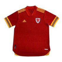 2020 Euro Cup Wales Home Authentic Soccer Jersey Shirt (Player Version)
