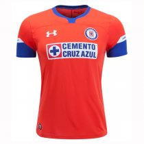 1819 Cruz Azul Third Away Kit Red Soccer Jersey Shirt