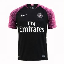 2018-19 PSG Black Pink Sleeve Training Jersey (Player version)