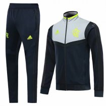 19-20 Flamengo Black&Gray Vest Tracksuit