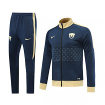 19-20 Pumas UNAM Navy High Neck Jacket Kit