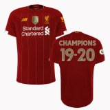 19-20 Liverpool Home Jersey EPL Champion 19-20 Full Patch Shirt