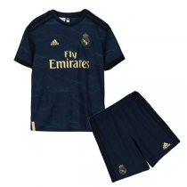 19-20 Real Madrid Away Soccer Jersey Kids Kit
