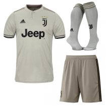 1819 Juventus Away Soccer Jersey Full Kit
