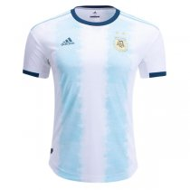 2019 Argentina Home Authentic Soccer Jersey(Player Version)