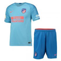 1819 Atletico Madrid Away Soccer Jersey Kit(Shirt+Short)