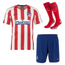 19-20 Atlético de Madrid Home Jersey Men Full Kit(Shirt+Short+Socks)