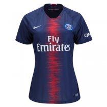 18-19 PSG Home Women Soccer Jersey Shirt